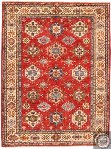 Caucasian Kazak rug - Hexagon Motifs