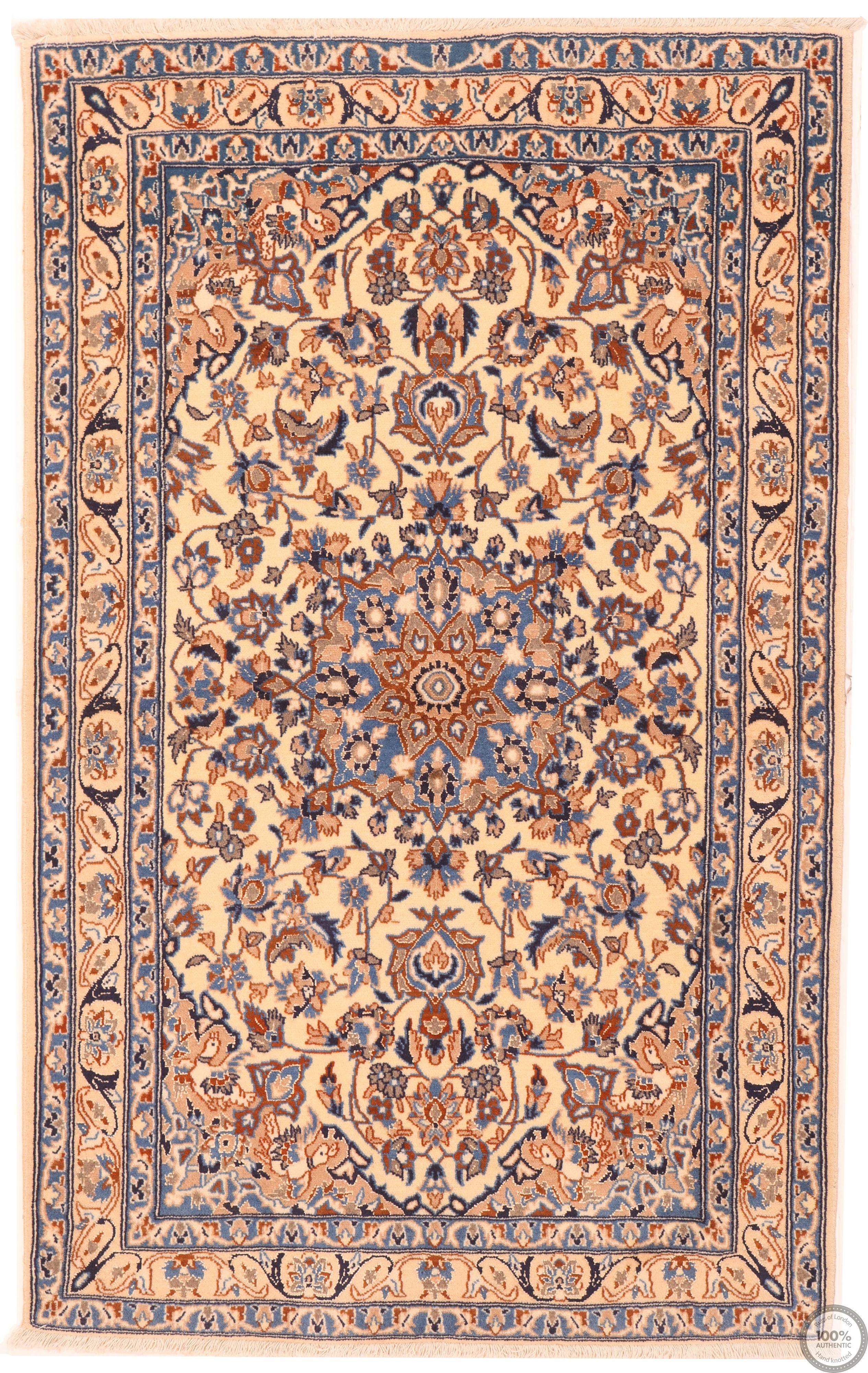 Persian Nain rug 9LA