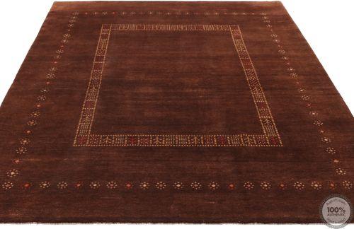 Persian nomadic Kashkouli rug - flat