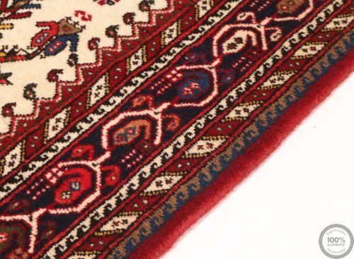 Persian Nasrabad Runner Rug - Beige