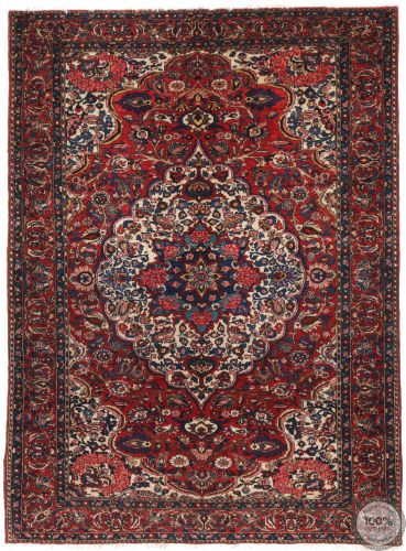 Persian Antique Bakhtiar Rug - circa 1910