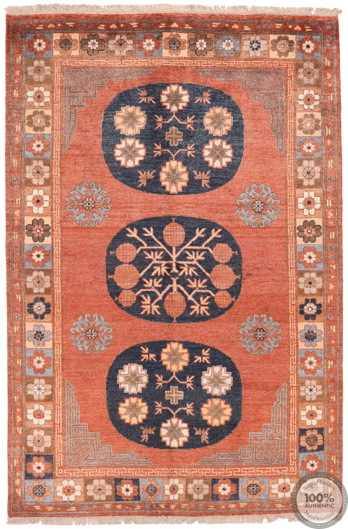 Shirvan design rug -8' x 5'3
