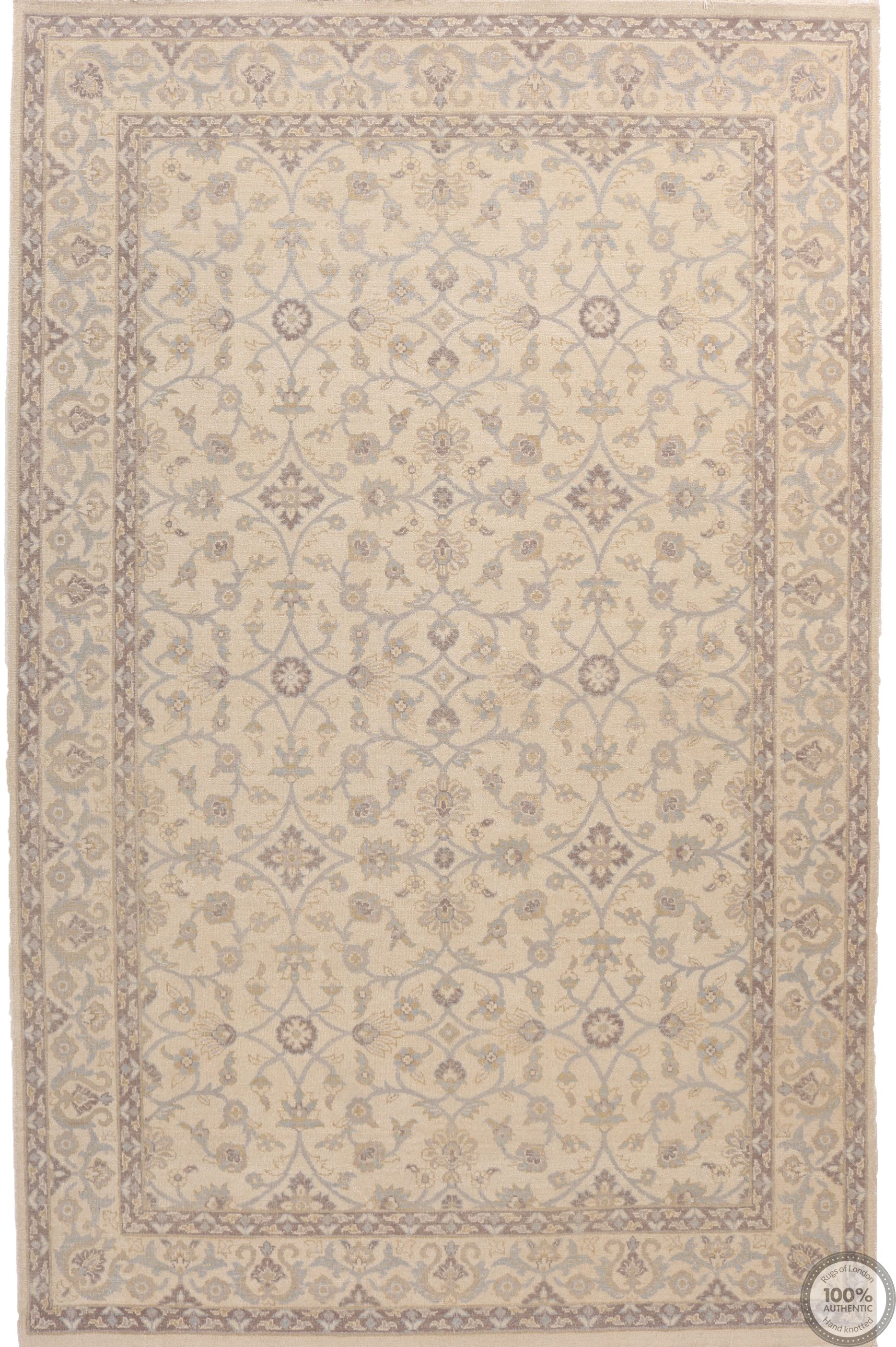Garous Ziegler design Indian rug - 8'8 x 5'9