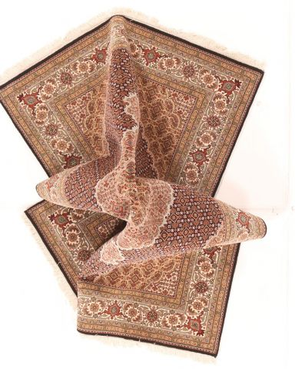 Tabriz Mahi design rug 7'9 x 5'4