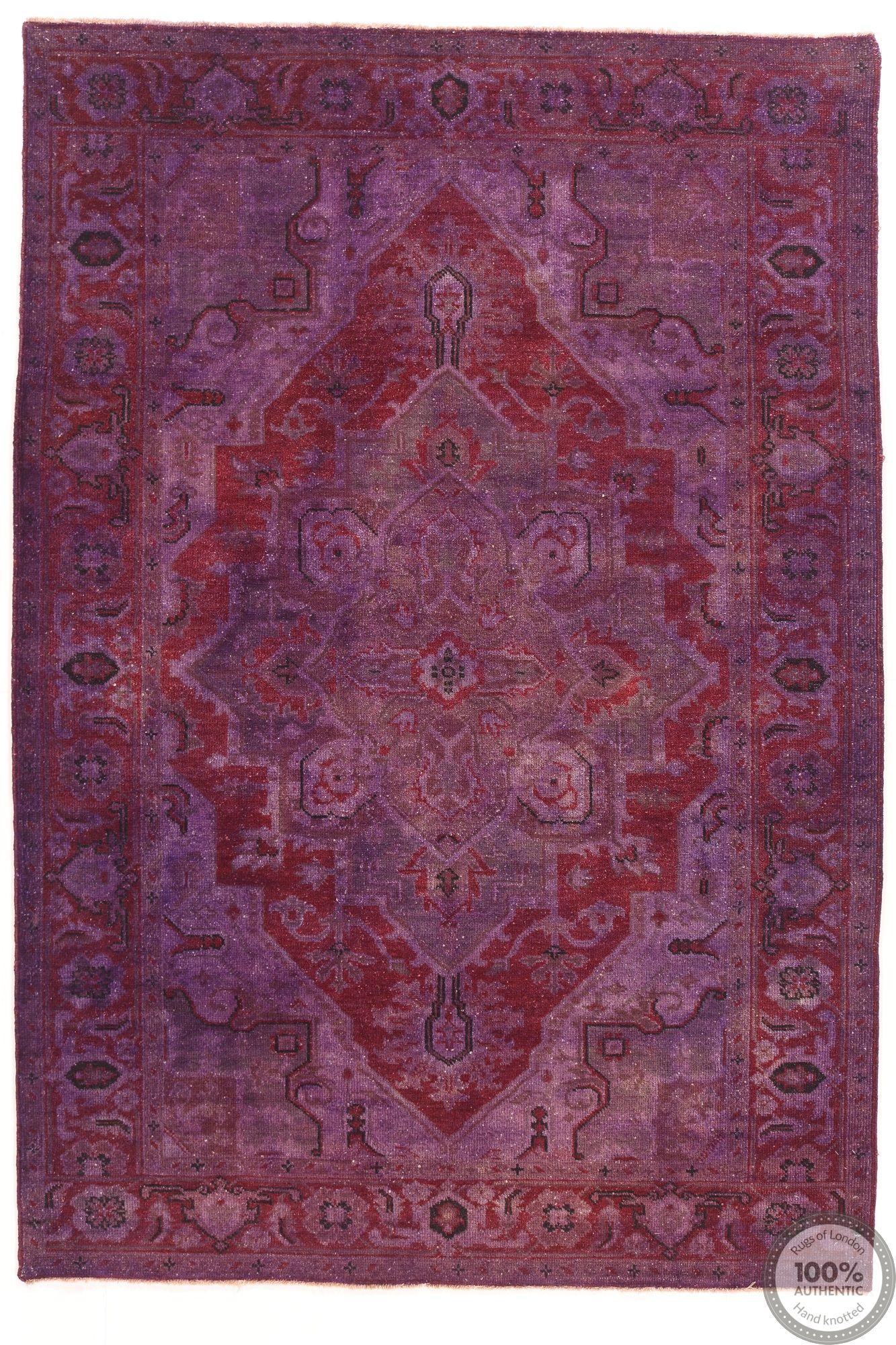 Modern Ocean rug - 7'9 x 5'5