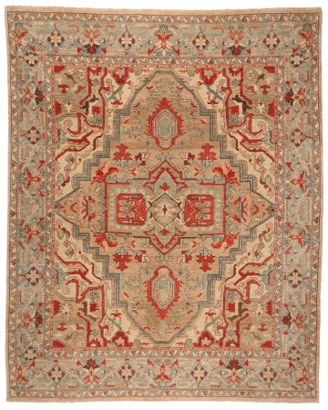 Persian Heriz rug - 13'9 x 10'