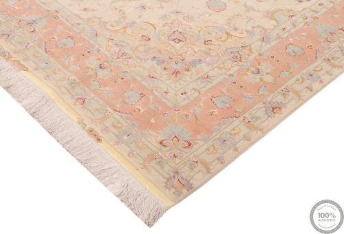 Persian Tabriz with silk Highlights 9'9 x 6'5