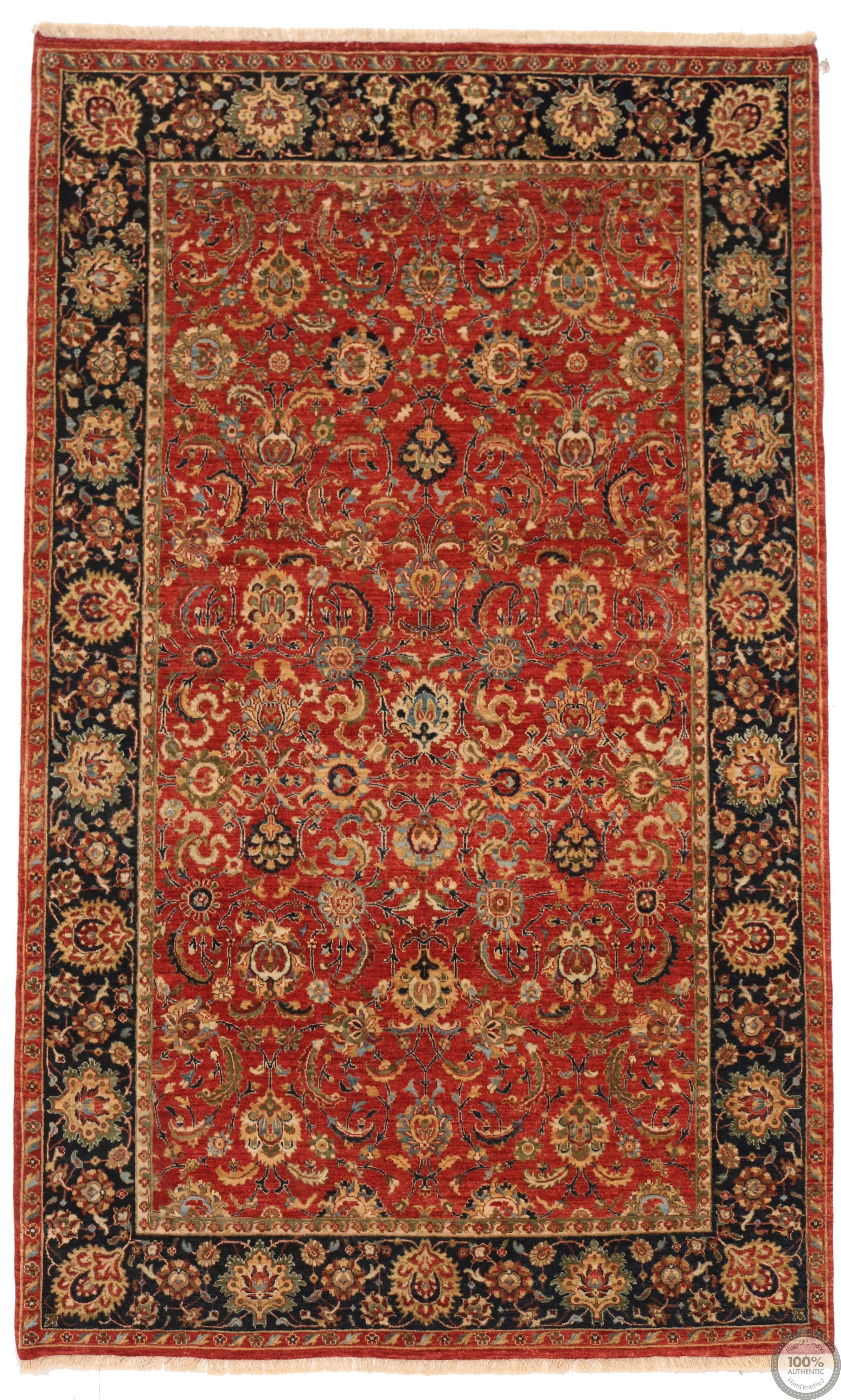 Fine Garous Ziegler design Indian rug 8'2 x 5