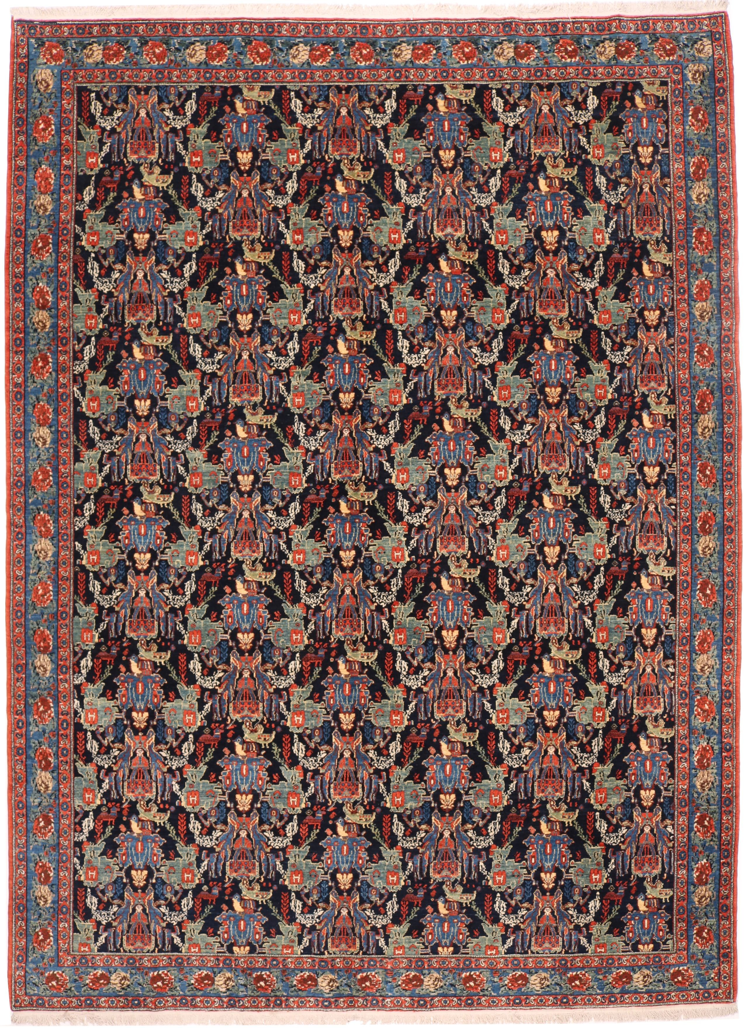 Persian Kurdish Senneh rug