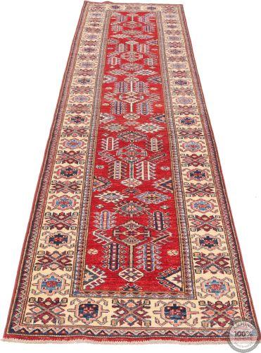 Caucasian / Kazak Design Runner - 11'8 x 2'6