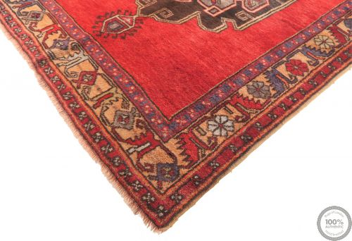 Persian Azerbaijan Runner Rug - Red