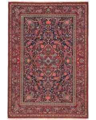 Keshan / Qazvin Antique Rug - Circa 1910