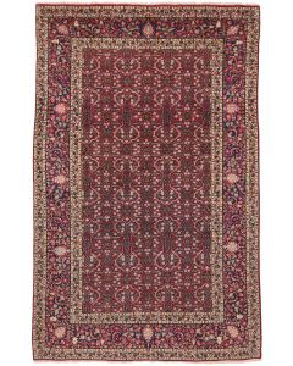 Antique Persian Yazd rug - Circa 1910