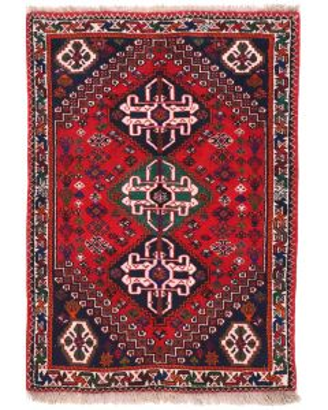 Persian Kashgai Rug - Red