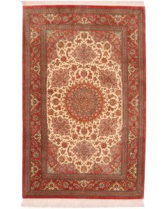 Qum 100% silk 7'3 x 4'5