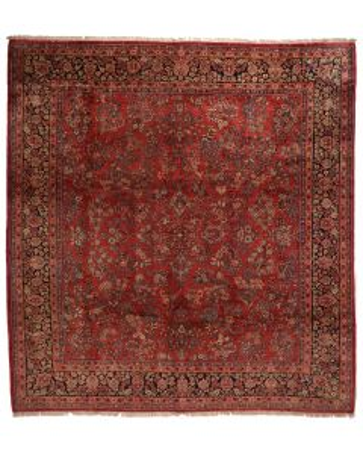 Persian Saruk Rug 13'2 x 12'4