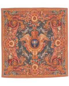 Tapestry French cote of arm