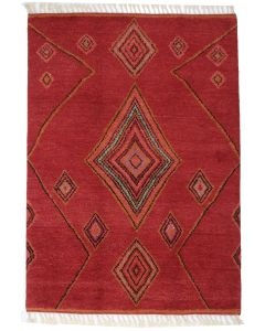 Moroccan design rug - Orange
