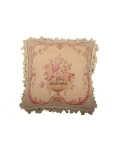 Tapestry needlepoint cushion