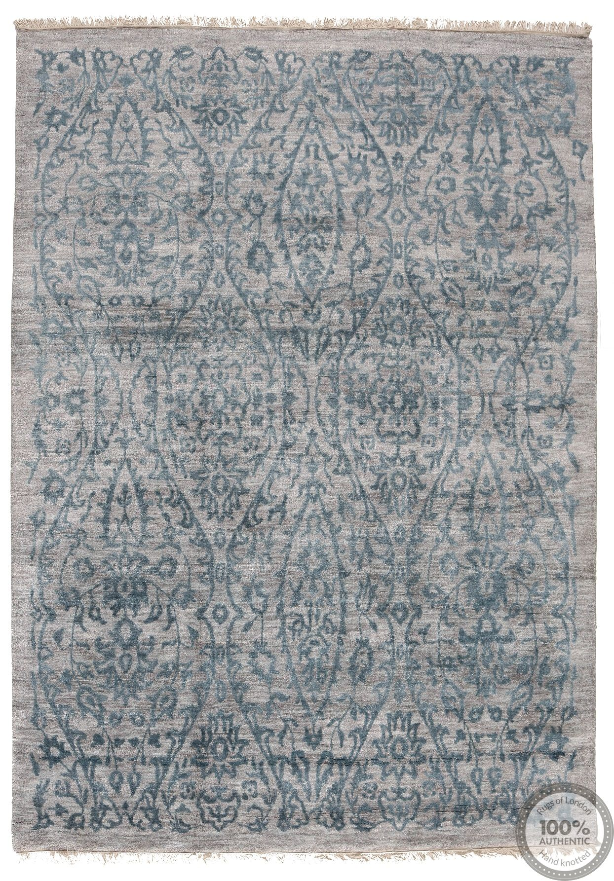contemporary modern Indian rug - 7'8 x 5'2