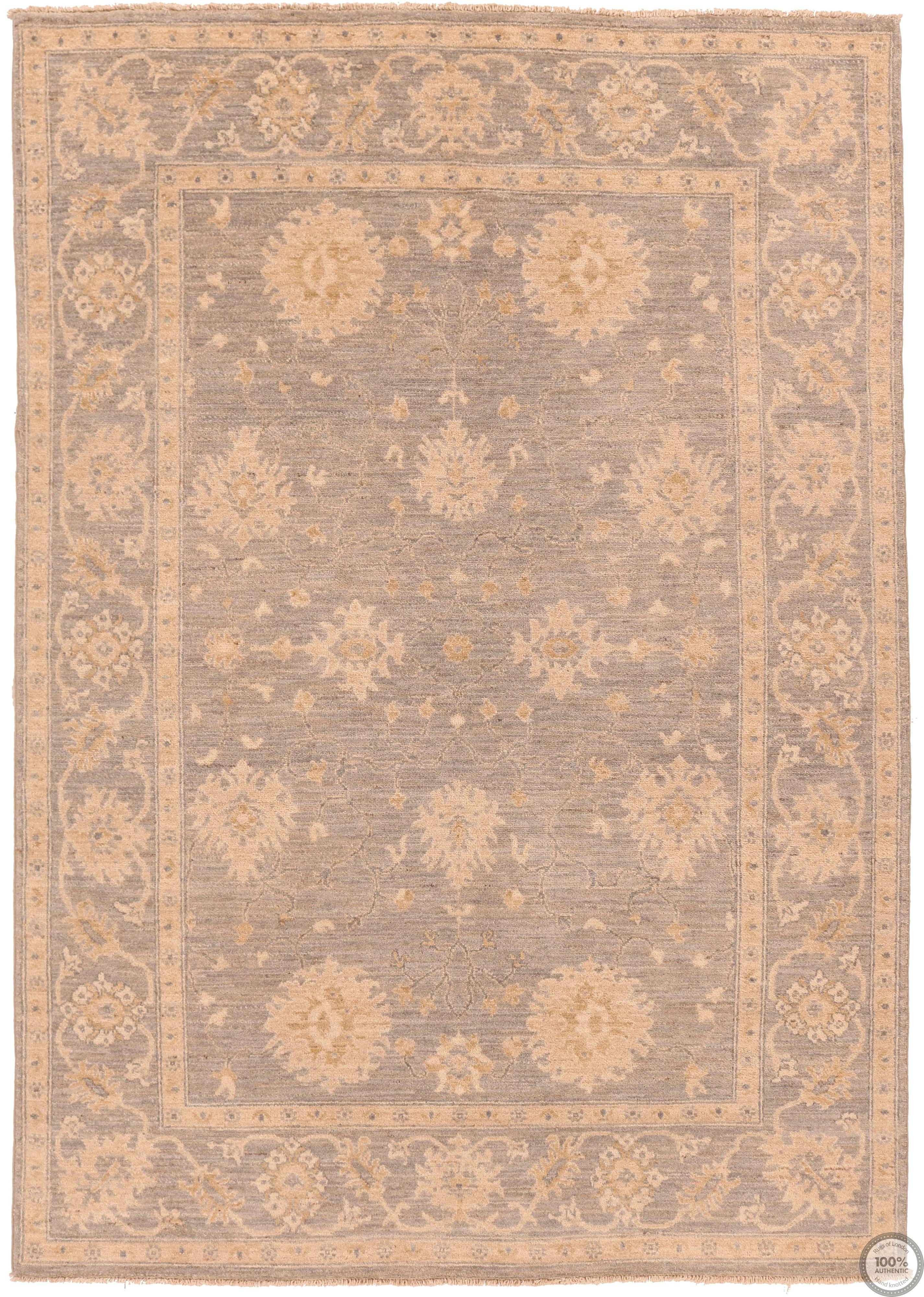 Garous Ziegler design rug 7'8 x 5'4