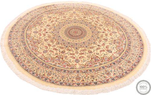 Persian Qum rug pure silk - 6'5 x 6'5