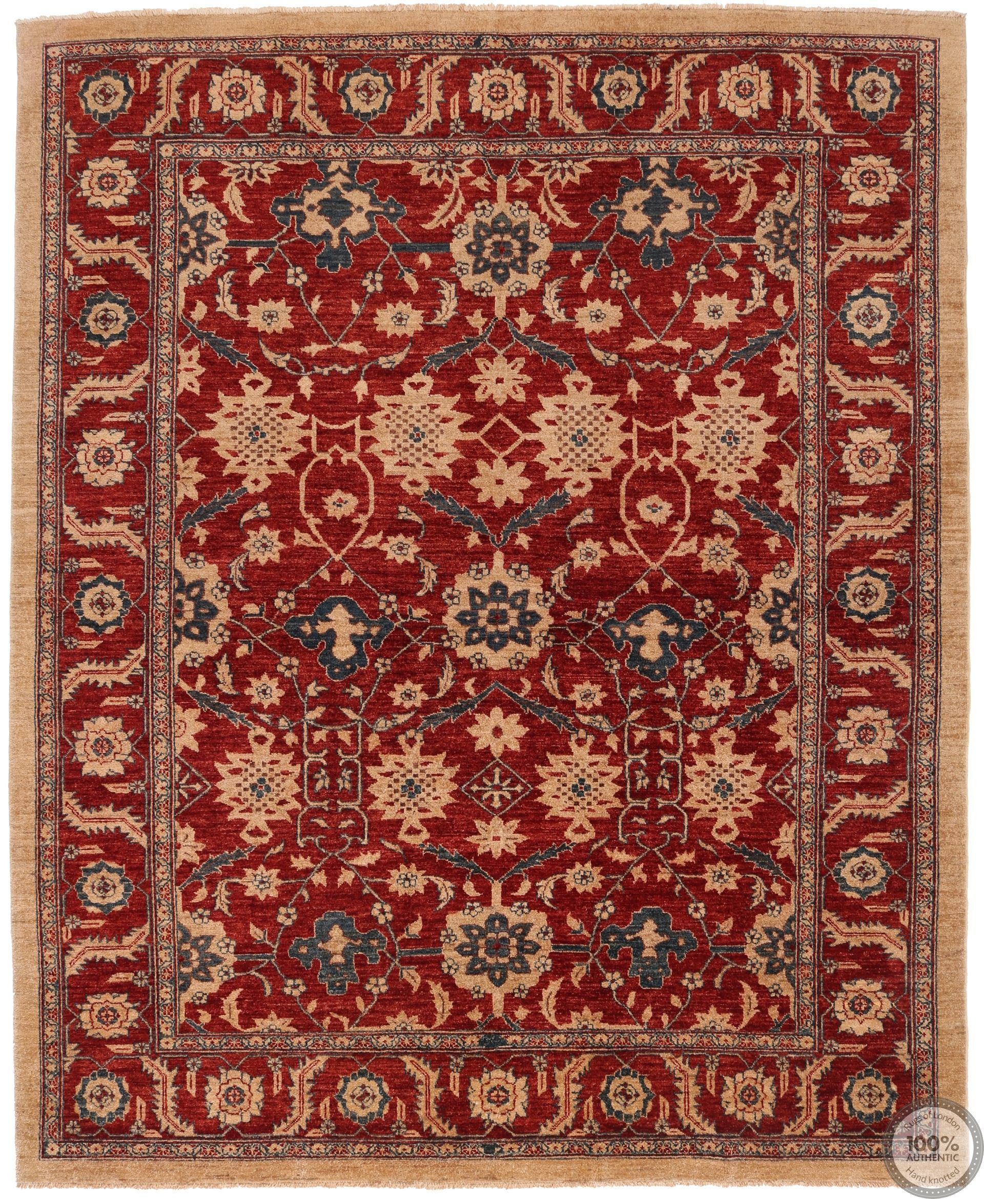 Garous Ziegler design rug 8'27 x 6'79
