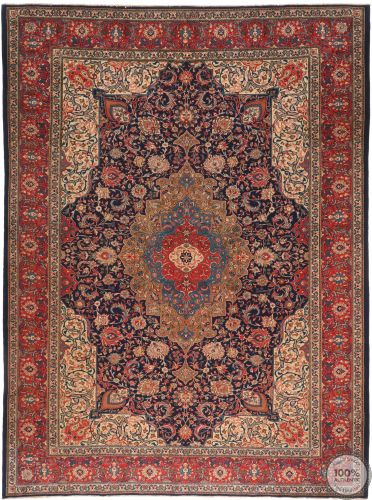 Persian Sarouk rug red