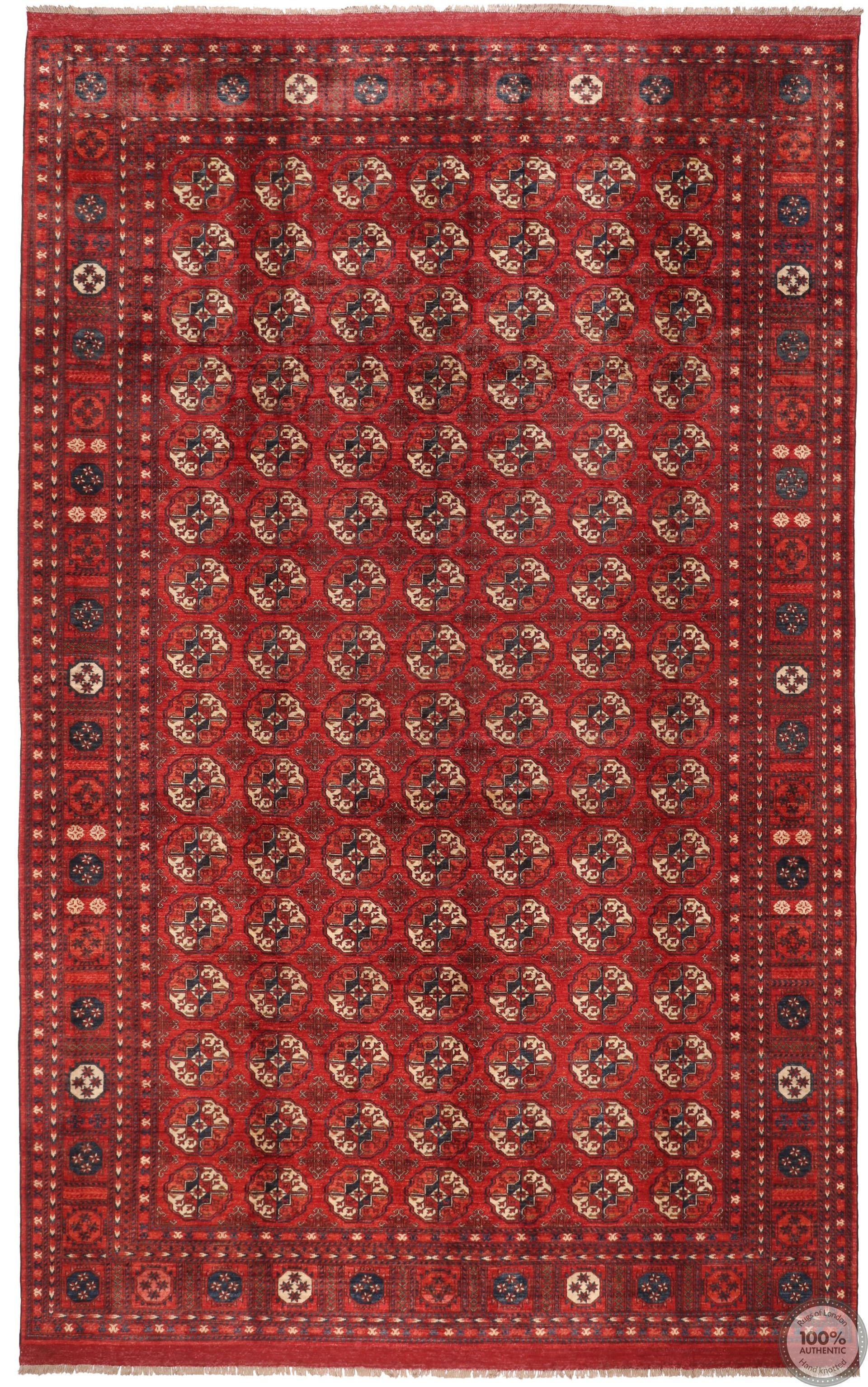 Ersari Design Rug - 16'01 x 9'7