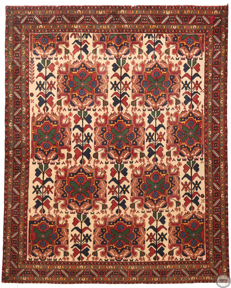 Perisan Shahrbabak rug mix