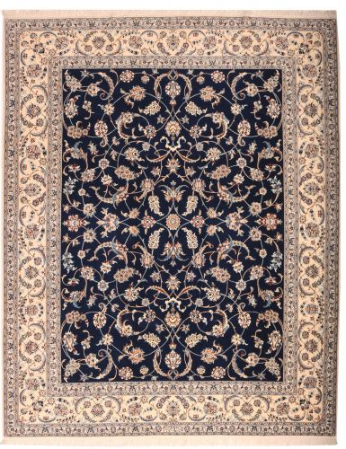 Persian Nain 6la rug with silk highlights - 8'3 x 6'7