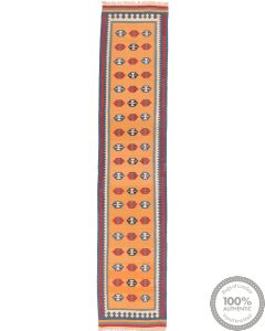 Kashgai Kilim Runner - 12'9 x 2'7