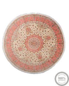 Fine Tabriz with silk highlights 50raj rug
