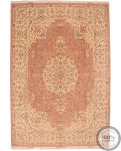 Fine Tabriz 60 Raj with silk highlights 12' x 8'2