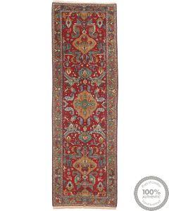 Caucasian Kazak Design Rug in Red - front