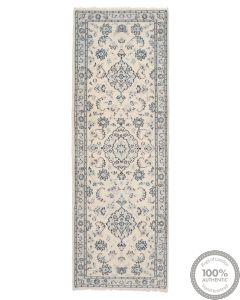 Persian Nain 9La rug with silk highlights 8'04 x 2'62