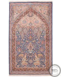 Persian Lavar / Kerman Rug  - 7'64 x 6'88