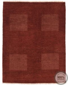 Gabbeh Simple Design with Squired pattern light brown - Large