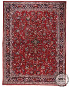 Persian Vintage Mahal rug - Low Pile