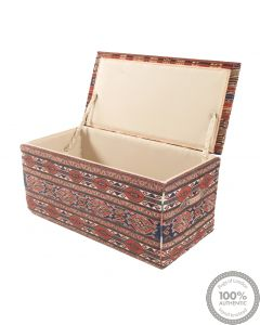 Shahsavan storage ottoman