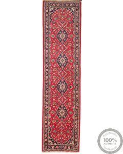 Persian Keshan Kashan rug Runner - 9'7 x 2'7