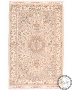 Fine Tabriz With Silk Highlights Rug - 10'3 x 6'4