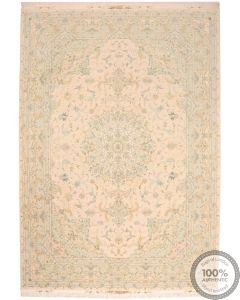 Fine Tabriz Part Silk 11'6 x 8 Front