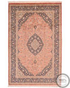 Qum silk rug - 8'2 x 5'1