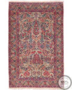 Antique Persian Lavar Kerman Rug - Circa 1920