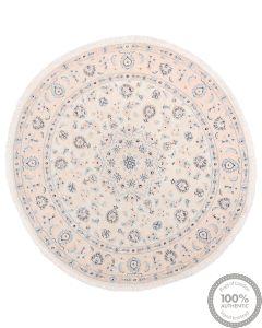 Nain 9La Circular rug with silk highlights 4'92 x 4'92