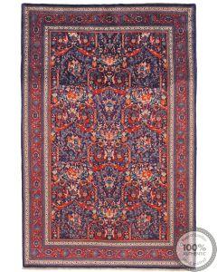 Antique Saruk Rug Pair -  6'7 x 4'4