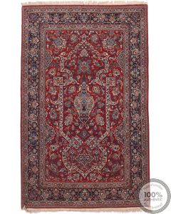 Pair of Antique Fine Isfahan Rug - Circa 1900