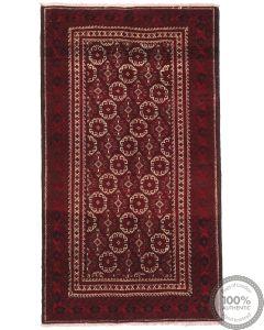 Persian Balouch Rug - 6'5 x 3'7