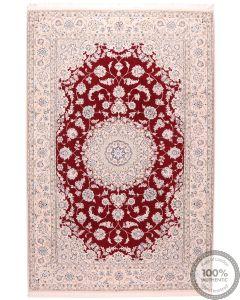 Persian Nain 9La Rug with Silk Highlights 10'10 x 6'50